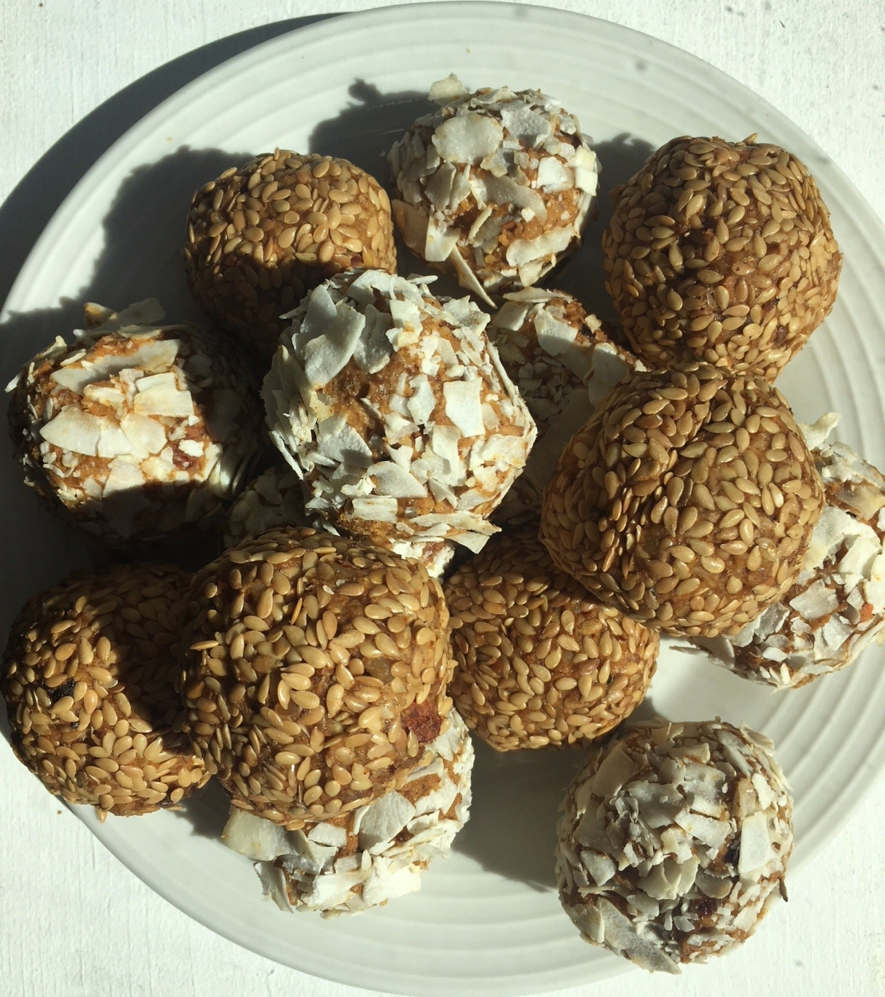 Carrots N Cake Protein Balls